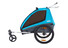 Thule Coaster XT Fietstrailer blauw/zwart
